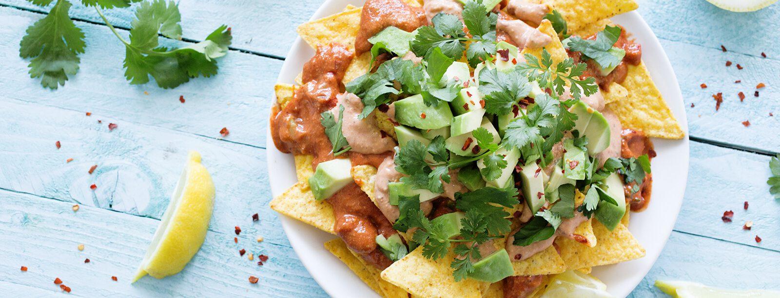 plant-based nachos