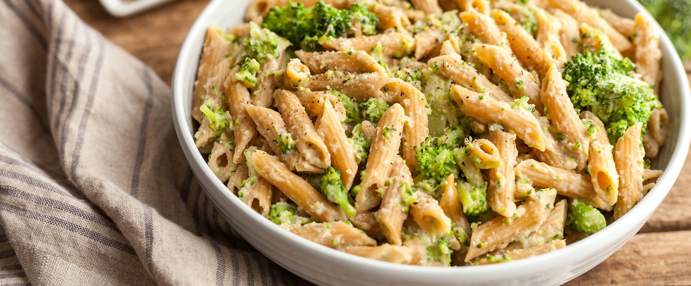 Celeriac Penne Vegan Alfredo