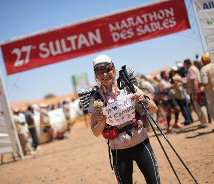 Fiona Oakes Marathon Des Sables