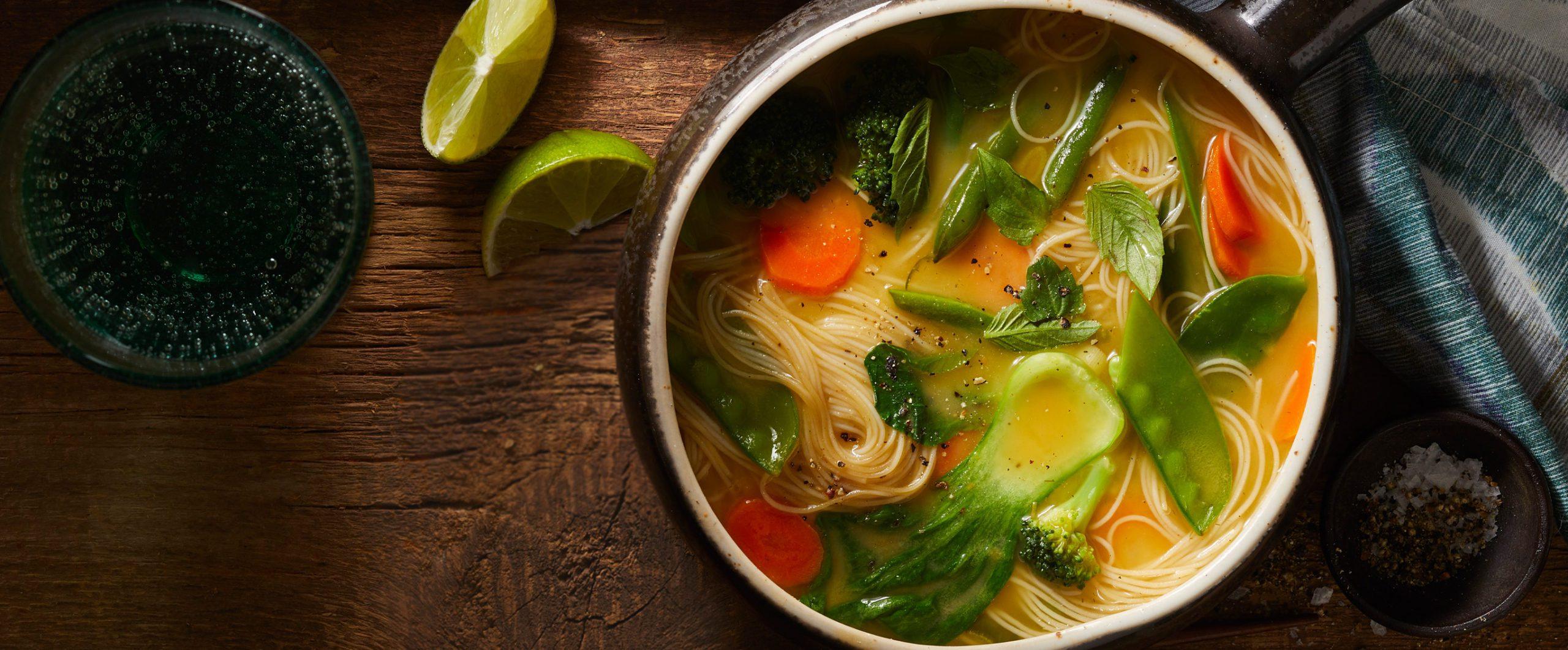 Thai Spring Noodle Soup